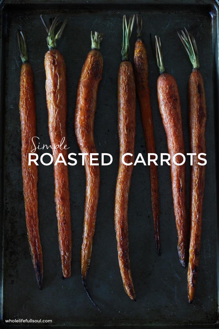Simple Roasted Carrots