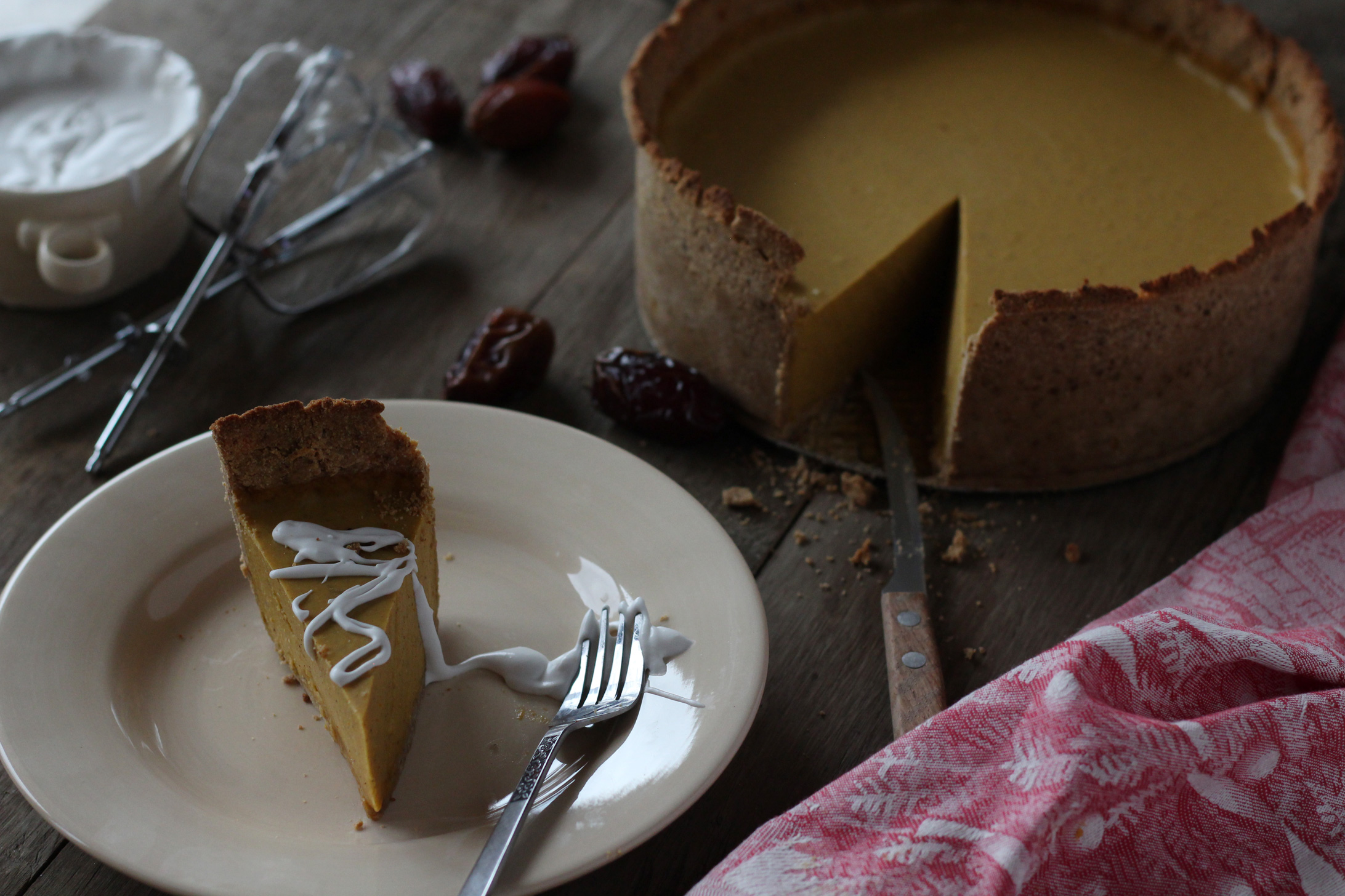 AIP Pumpkin Cheesecake Pie