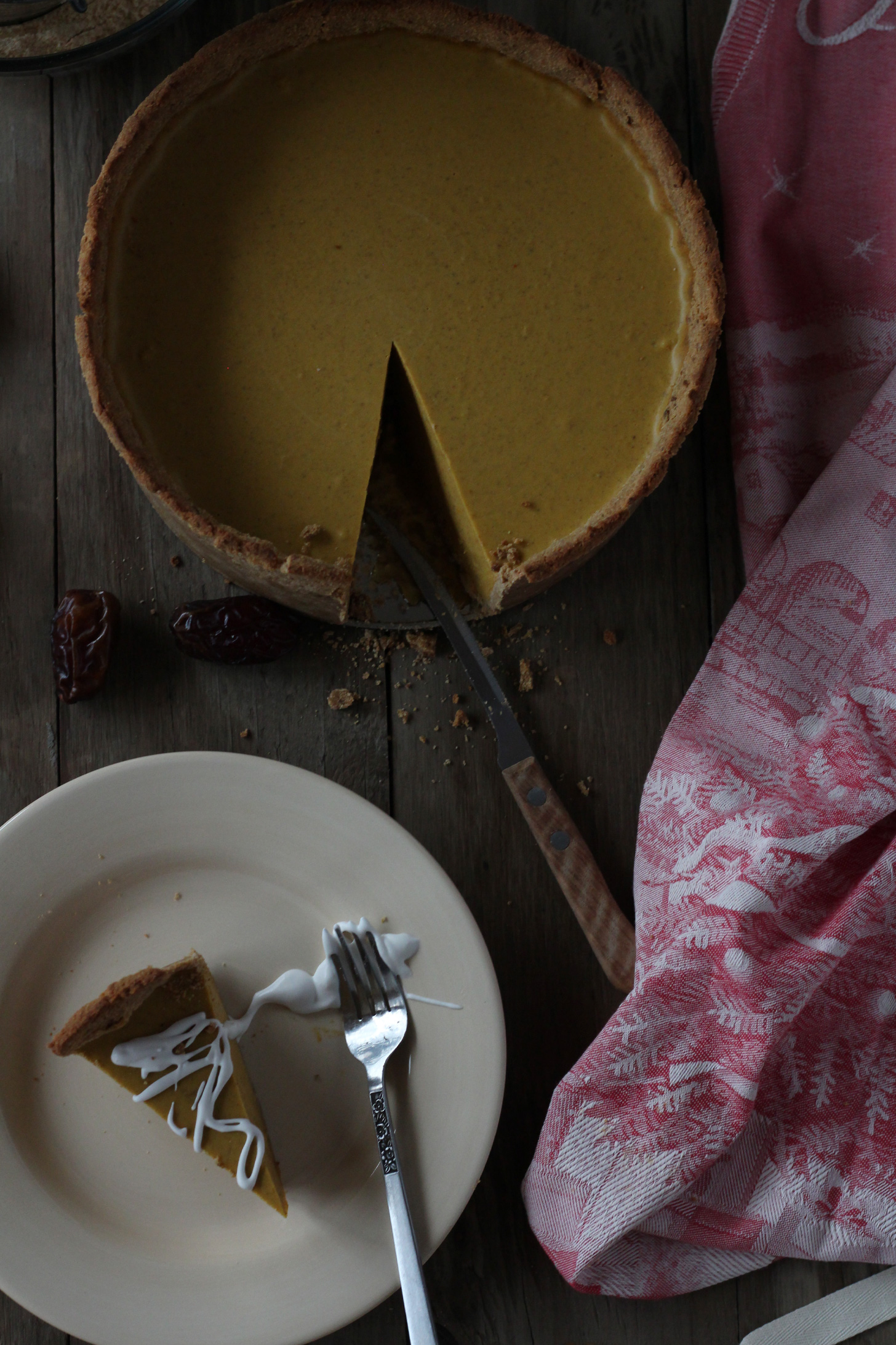 AIP Pumpkin Cheesecake Pie