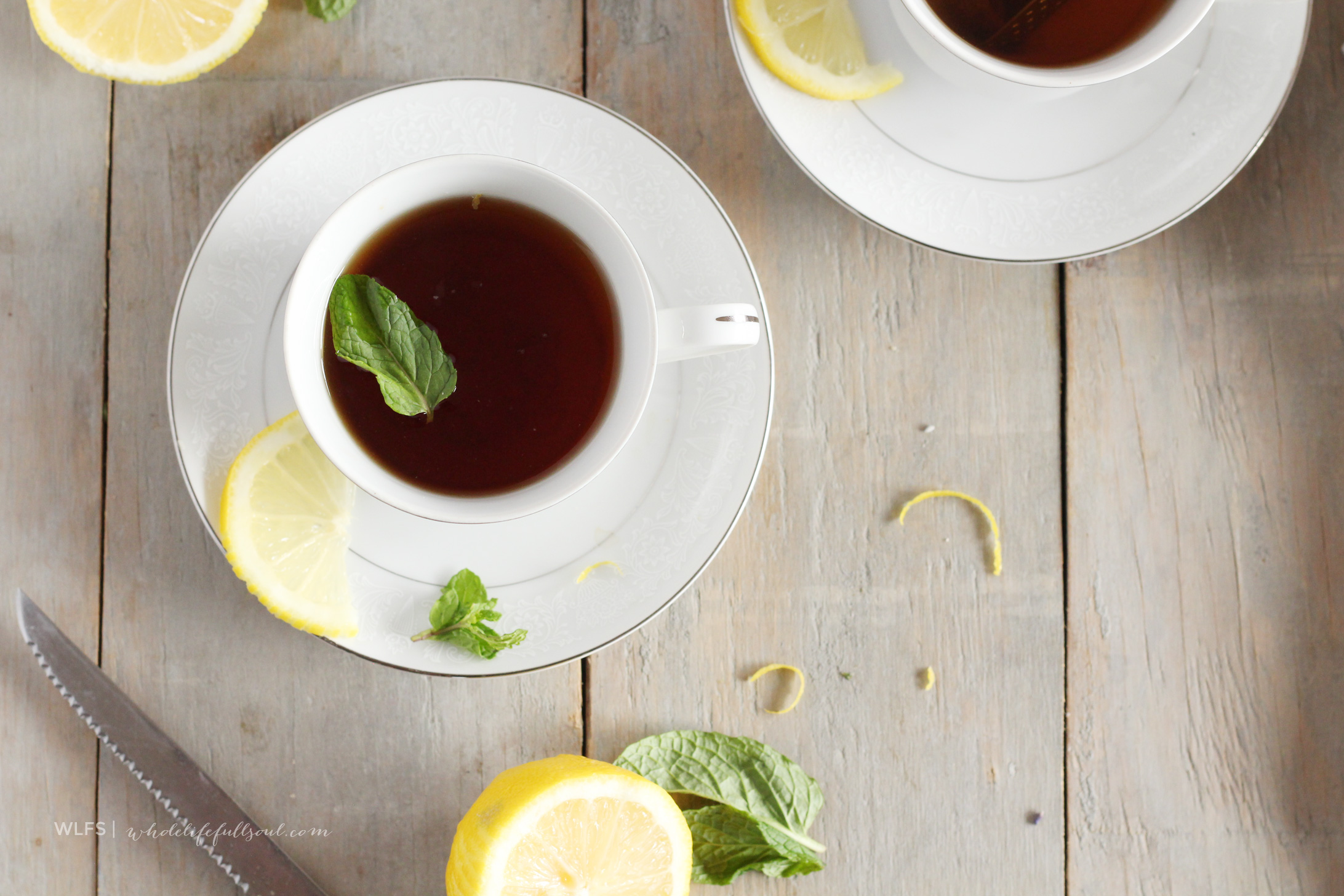 Dandelion Root Tea with Mint