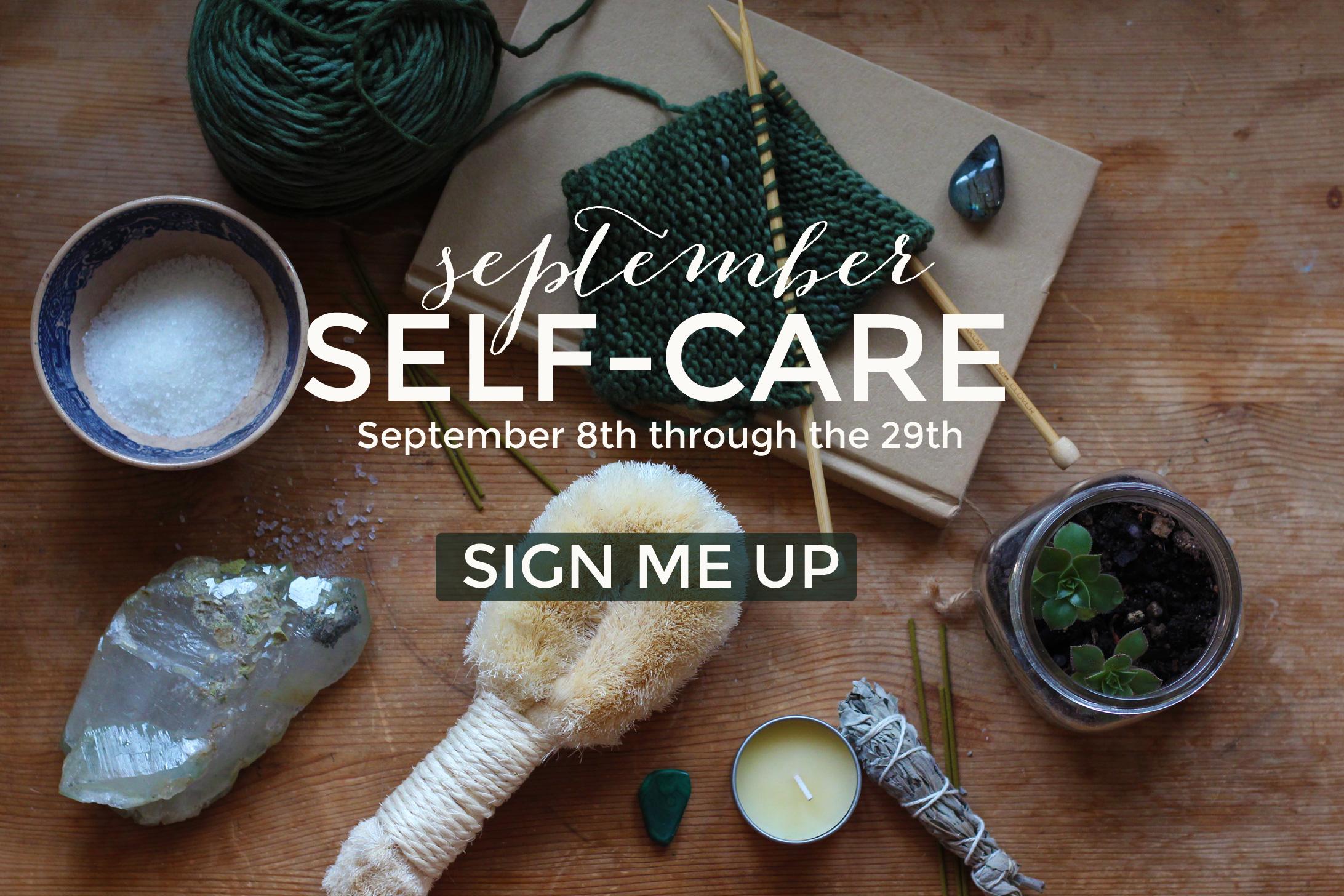 September Self-Care Program