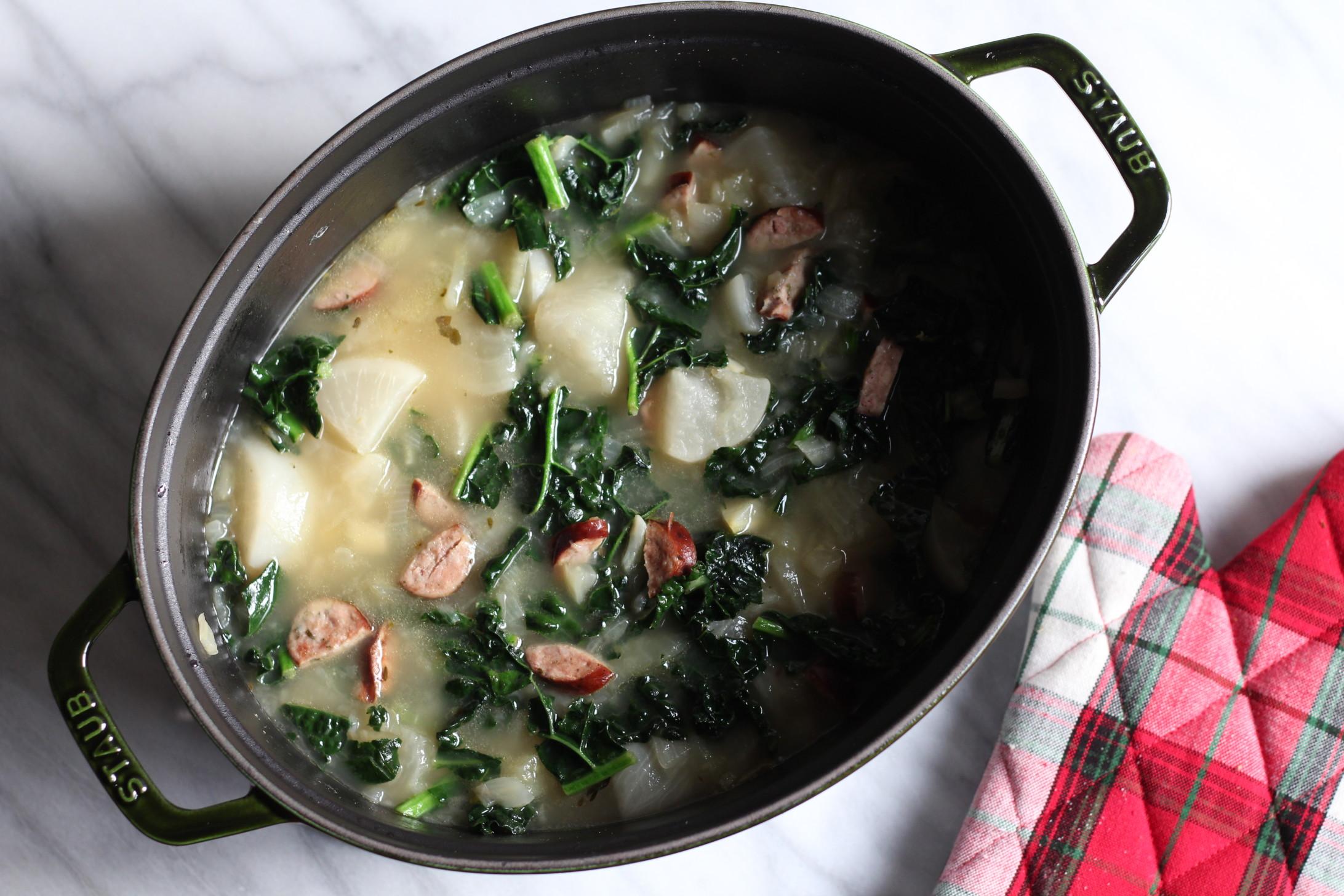 Italian Kale & Sausage Soup