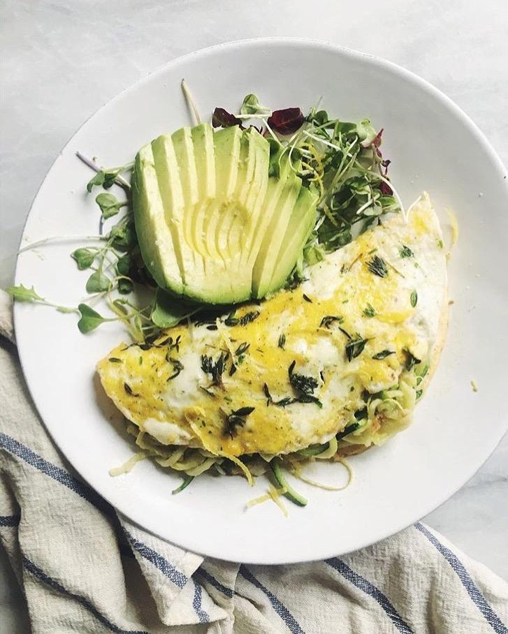 Lemon Herb Omelette